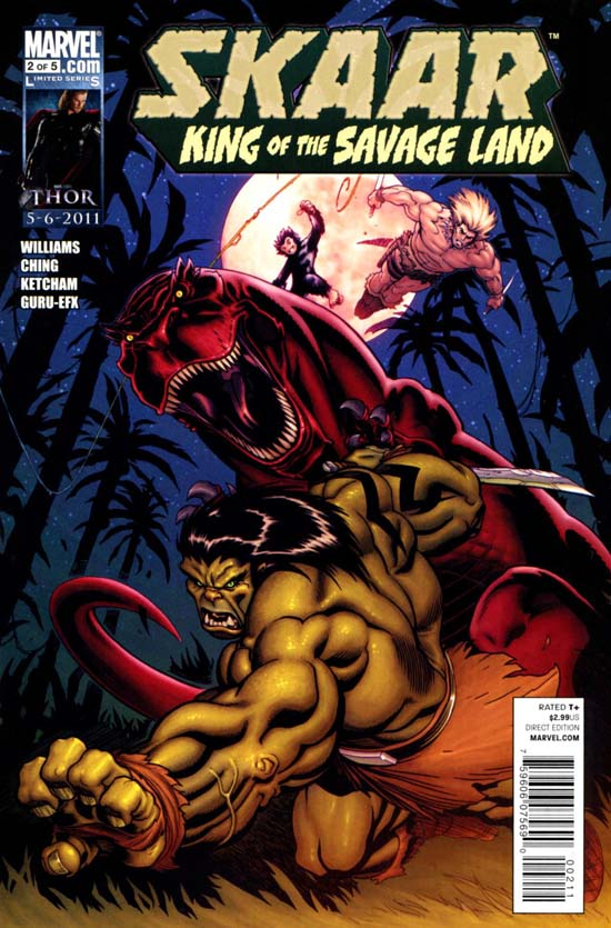 Skaar: King of the Savage Land Vol 1 2