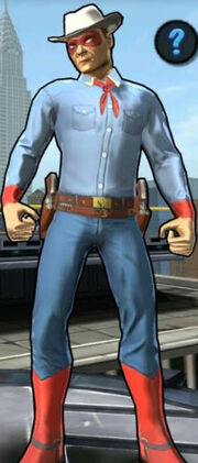 Spider-Cowboy (Peter Parker) from Spider-Man Unlimited (video game) 001.jpg
