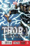 Thor God of Thunder Vol 1 1 Quesada Variant