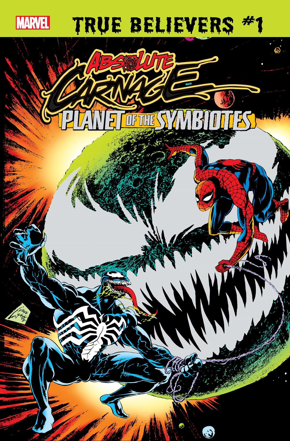 True Believers: Absolute Carnage - Planet of the Symbiotes Vol 1