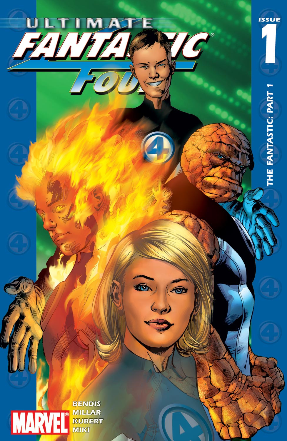 Ultimate Fantastic Four Vol 1 1