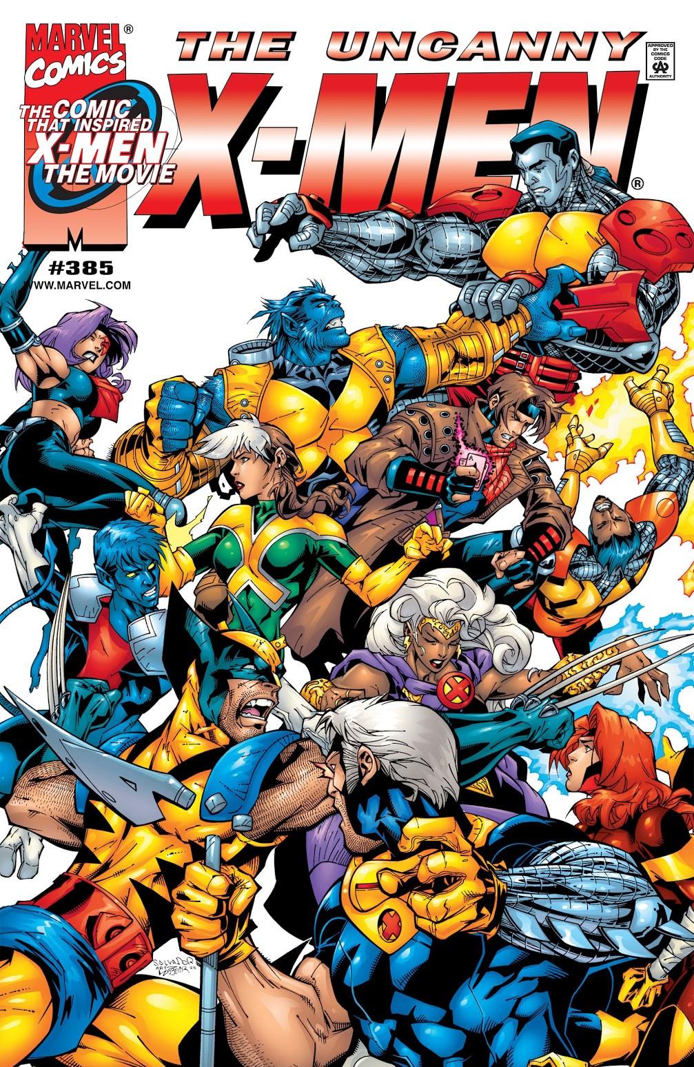 Uncanny X-Men Vol 1 385