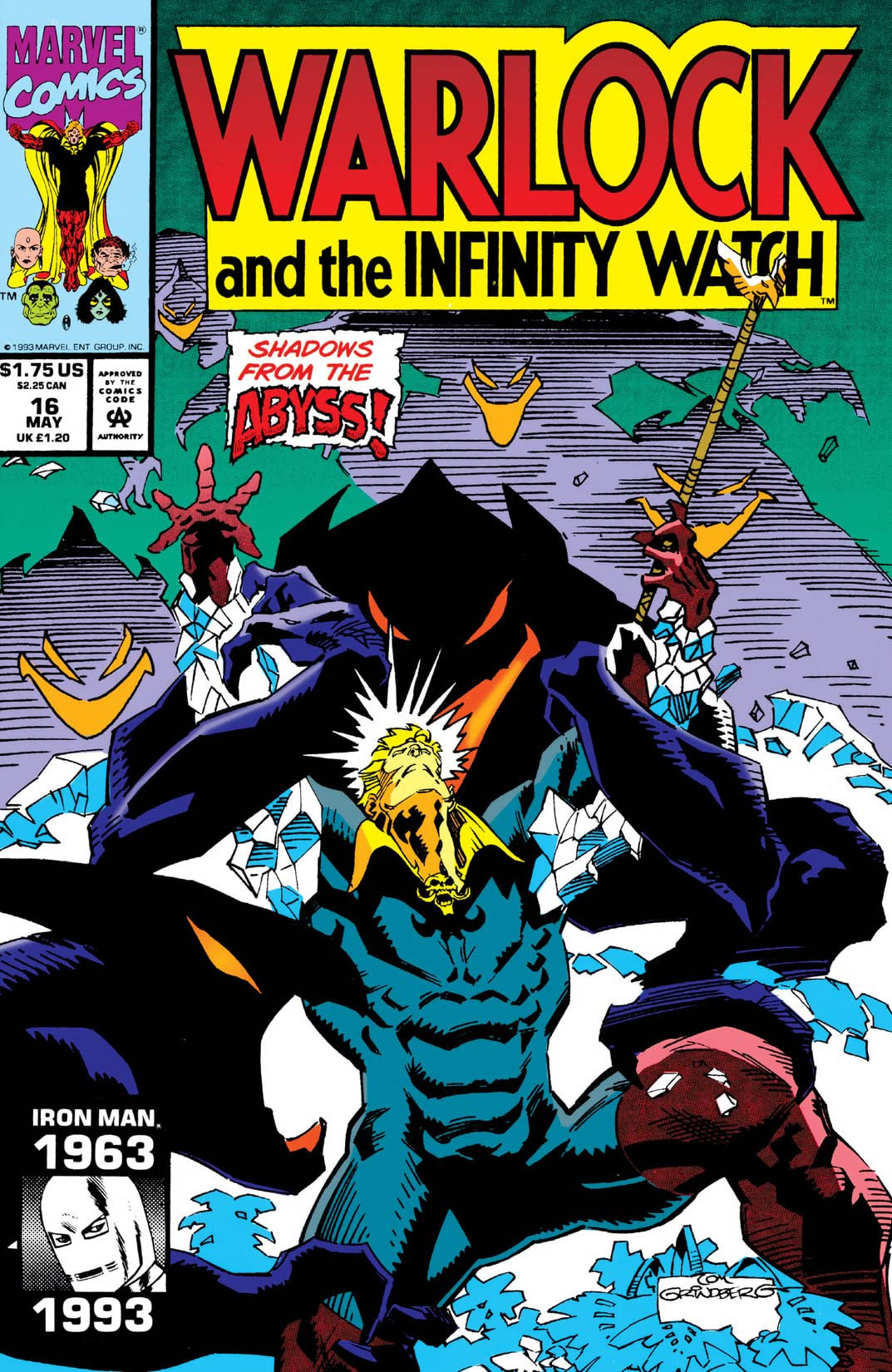 Warlock and the Infinity Watch Vol 1 16