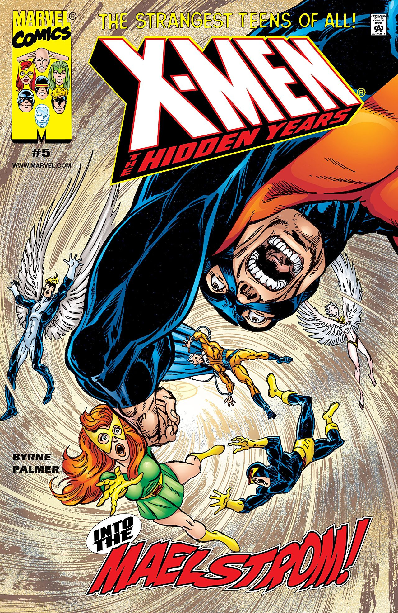 X-Men: The Hidden Years Vol 1 5
