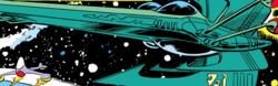 Z'Reee Shar (Vehicle) from Uncanny X-Men Vol 1 161 001.png