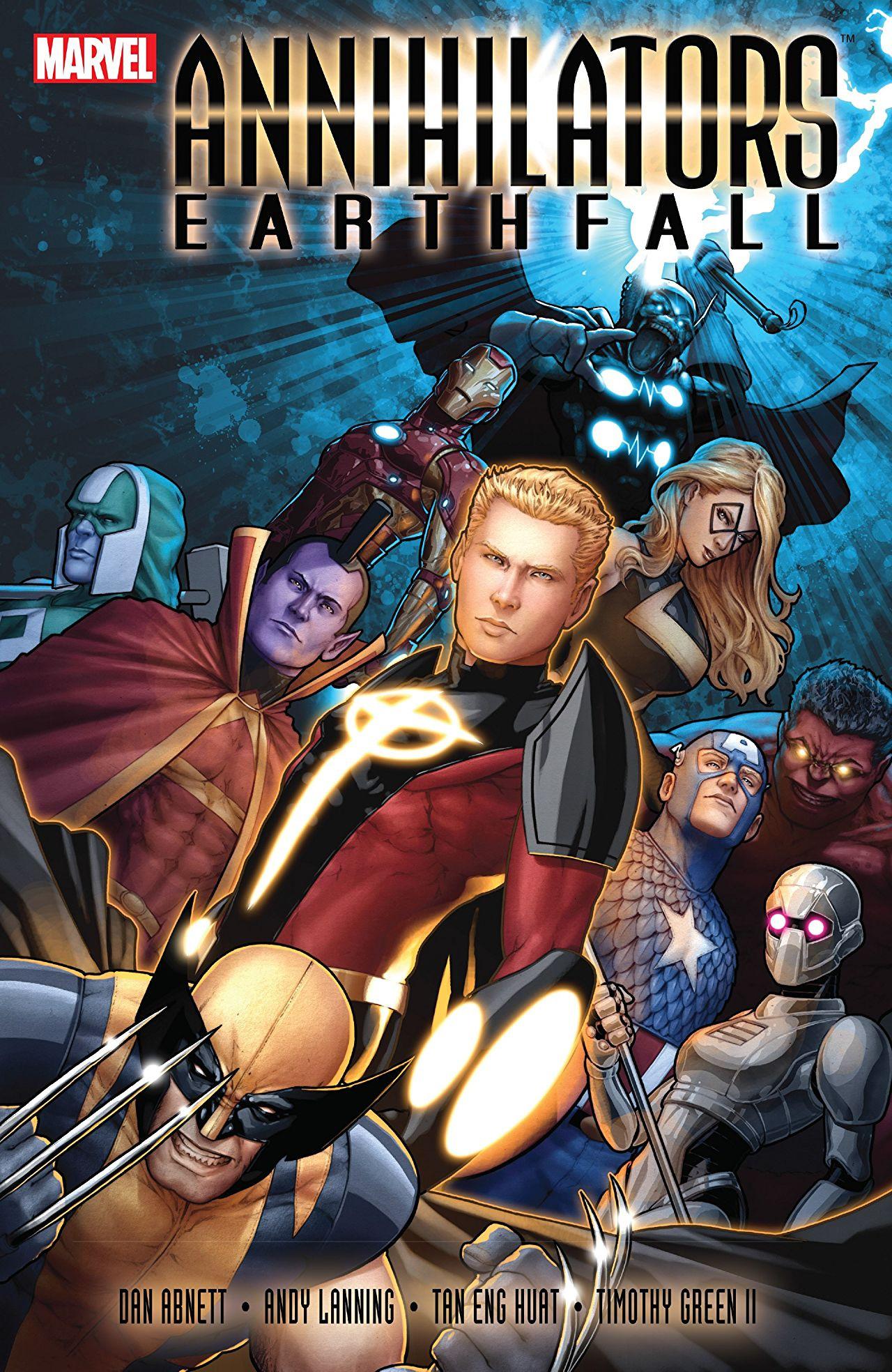 Annihilators: Earthfall TPB Vol 1 1