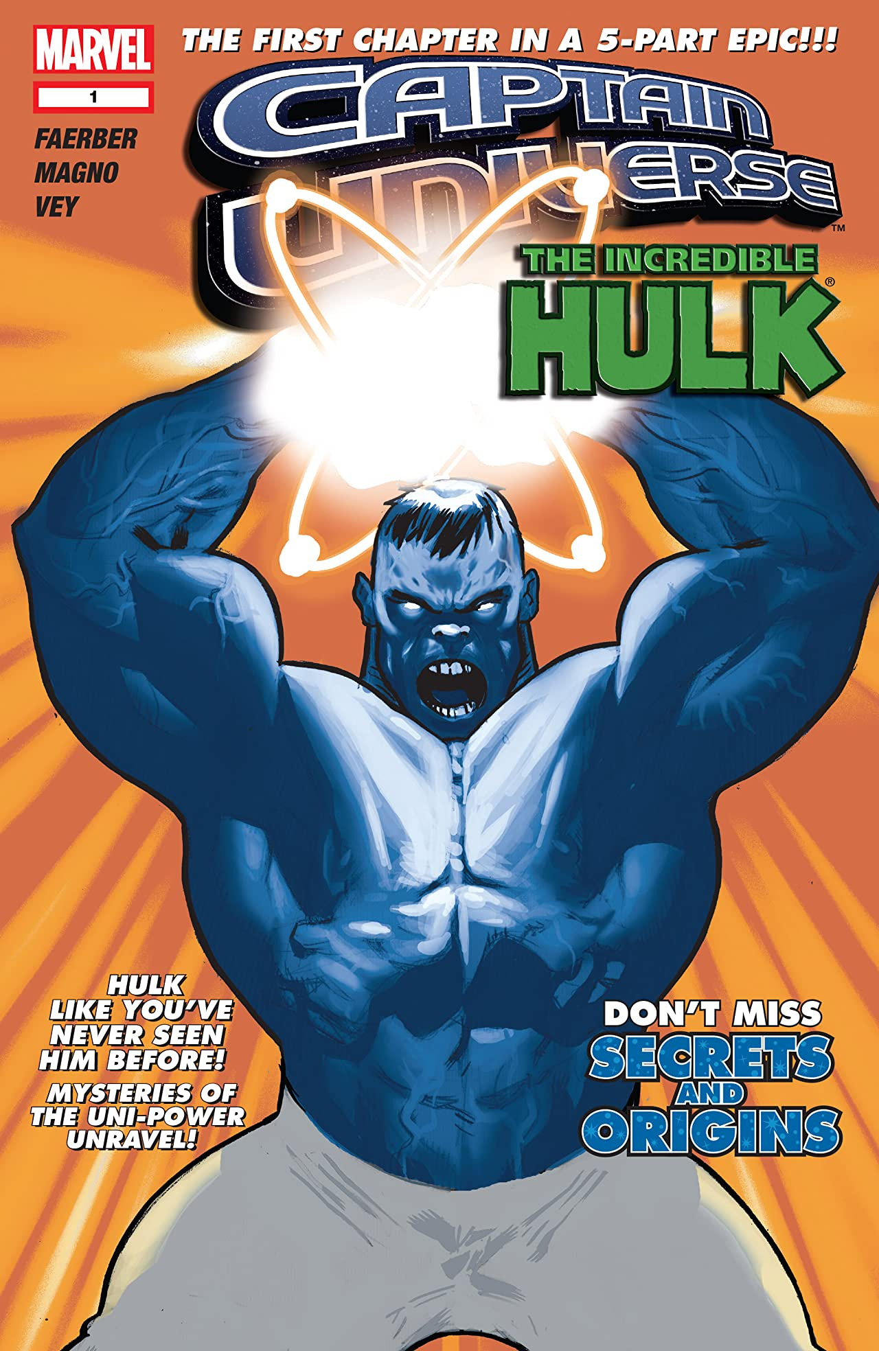 Captain Universe: Incredible Hulk Vol 1 1