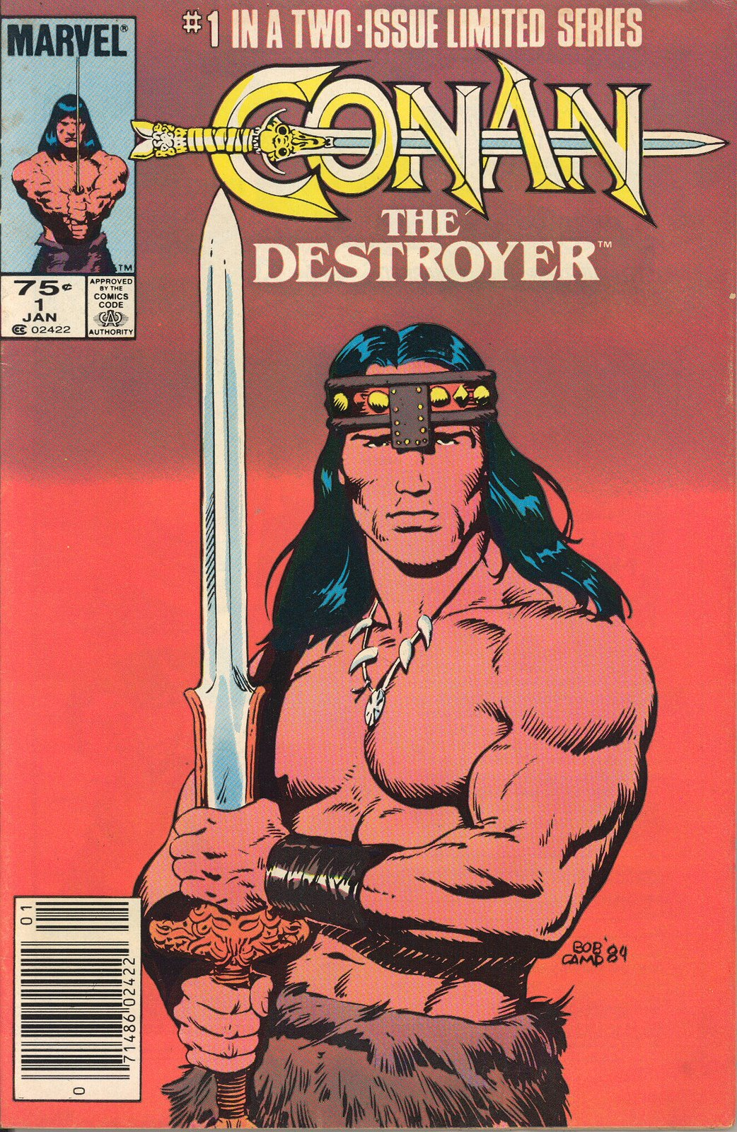 Conan the Destroyer Movie Special Vol 1