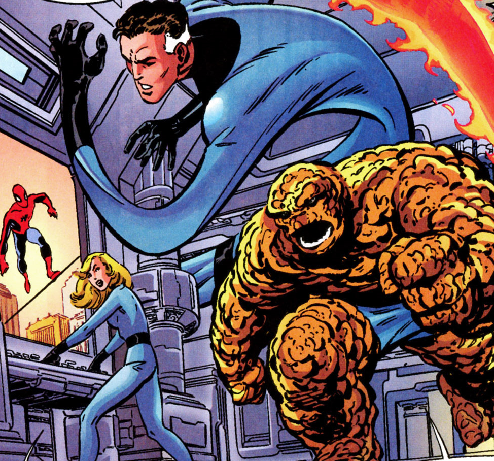 Fantastic Four (Earth-98121)/Gallery