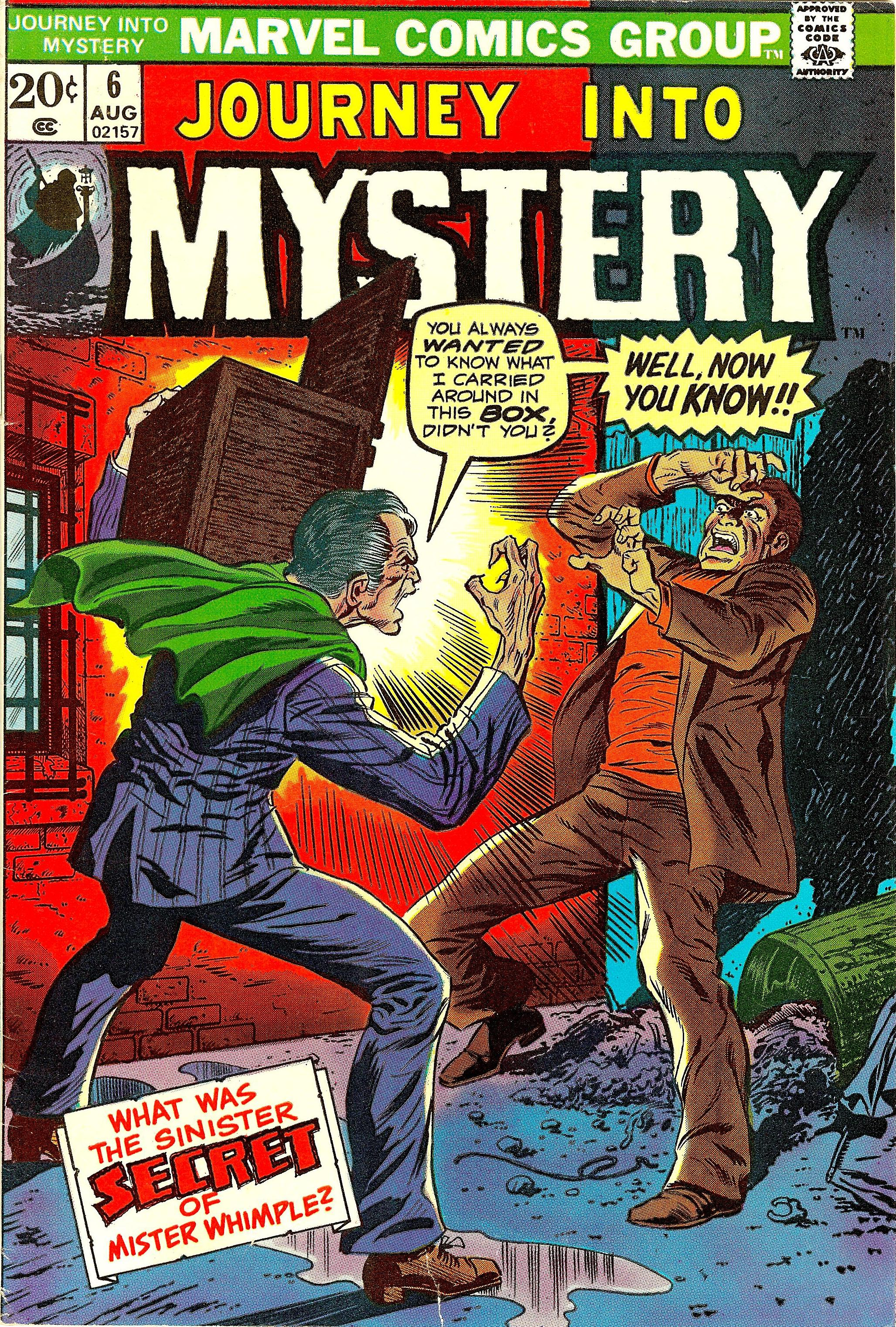 Journey into Mystery Vol 2 6