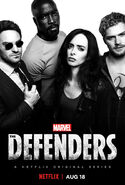 Marvel's The Defenders poster 001