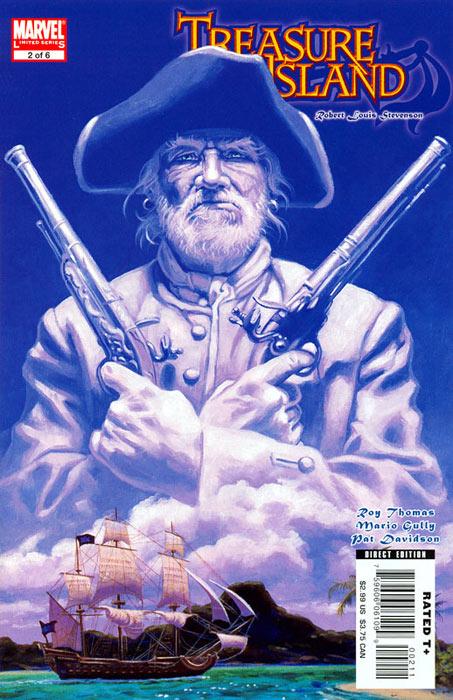 Marvel Illustrated: Treasure Island Vol 1 2