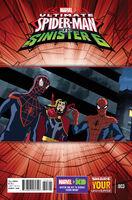 Marvel Universe Ultimate Spider-Man vs. the Sinister Six Vol 1 3
