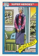 May Parker (Earth-616) from Marvel Universe Cards Series I 0001