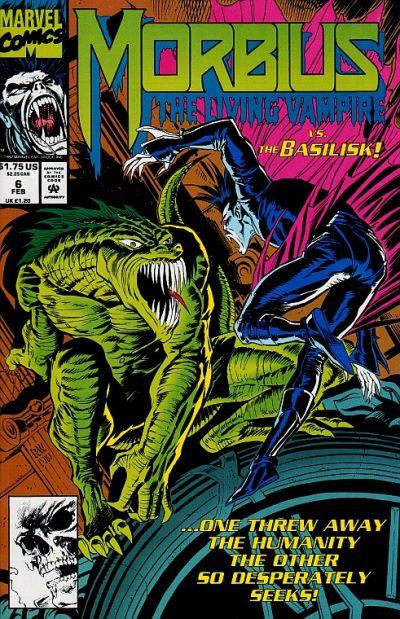 Morbius: The Living Vampire Vol 1 6