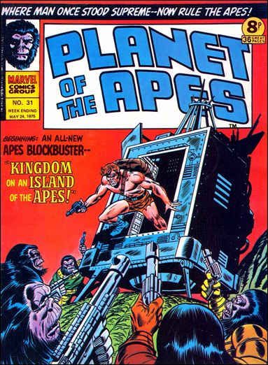 Planet of the Apes (UK) Vol 1 31