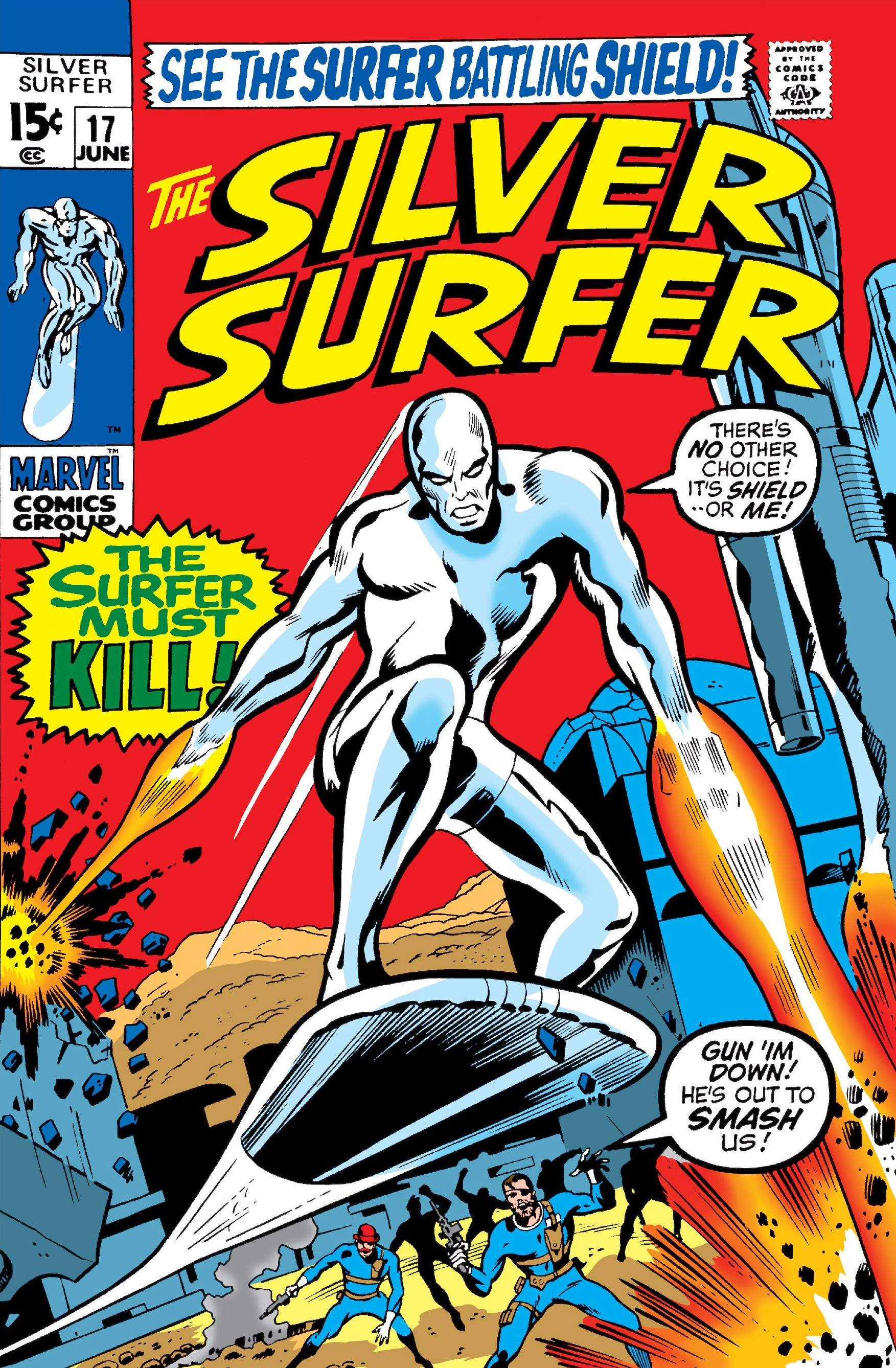 Silver Surfer Vol 1 17