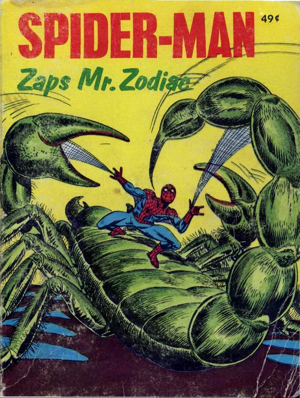 Spider-Man Zaps Mr. Zodiac