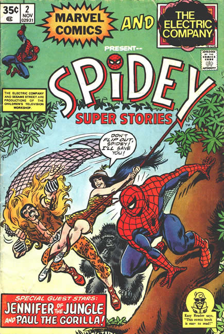 Spidey Super Stories Vol 1 2