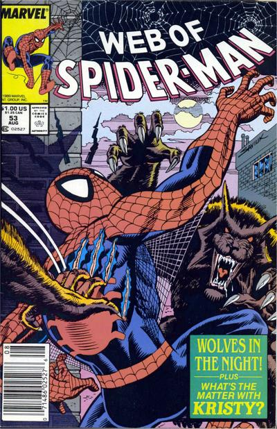 Web of Spider-Man Vol 1 53