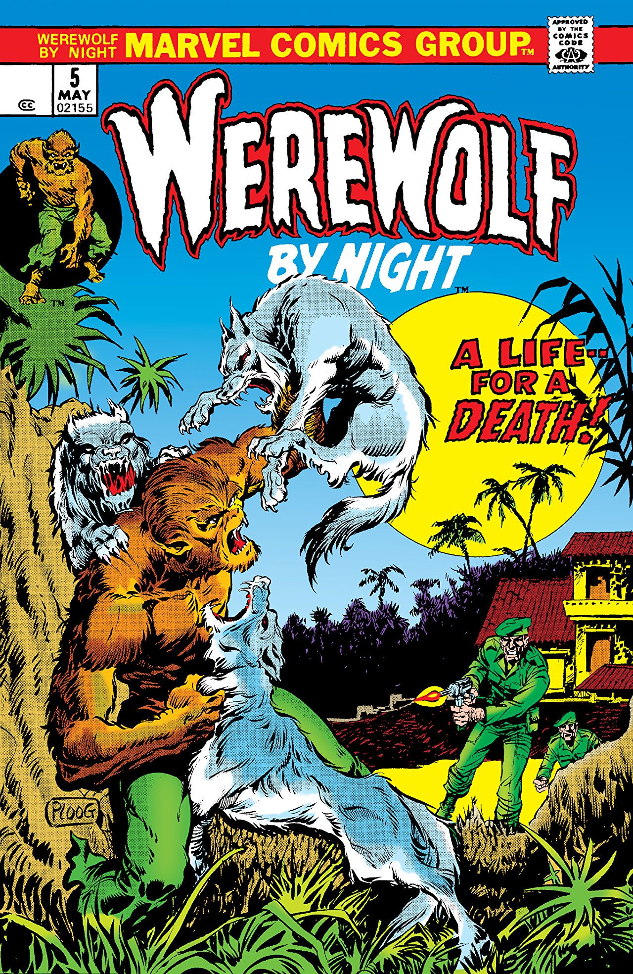 Werewolf by Night Vol 1 5