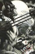 Wolverine Vol 3 54 Black & White Variant Textless