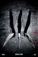 X-Men Origins Wolverine (film) Poster 0001