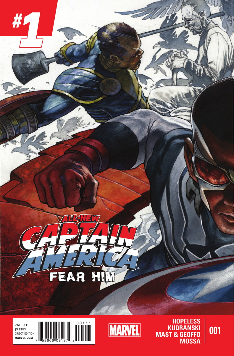 All-New Captain America: Fear Him Vol 1 1