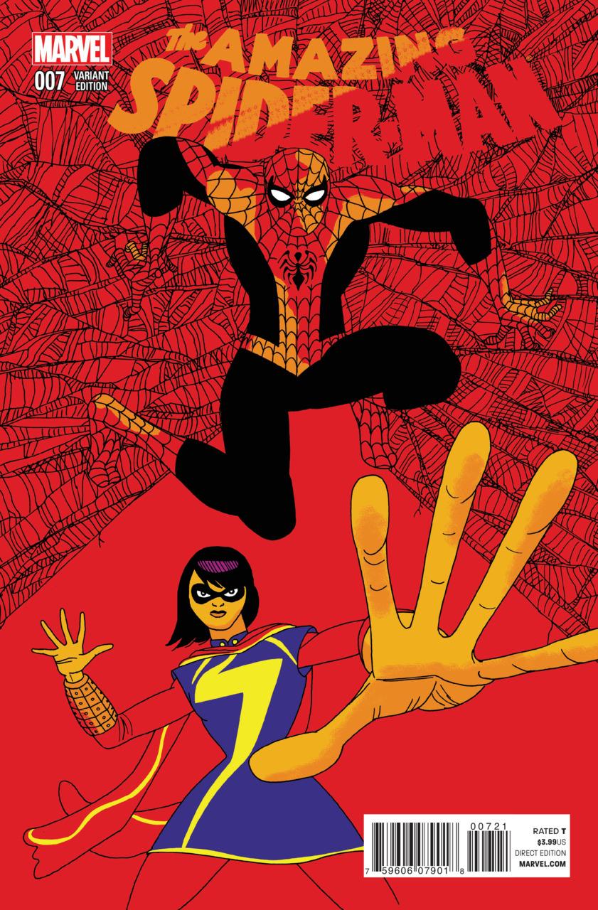 Amazing Spider-Man Vol 3 7 Pulido Variant.jpg