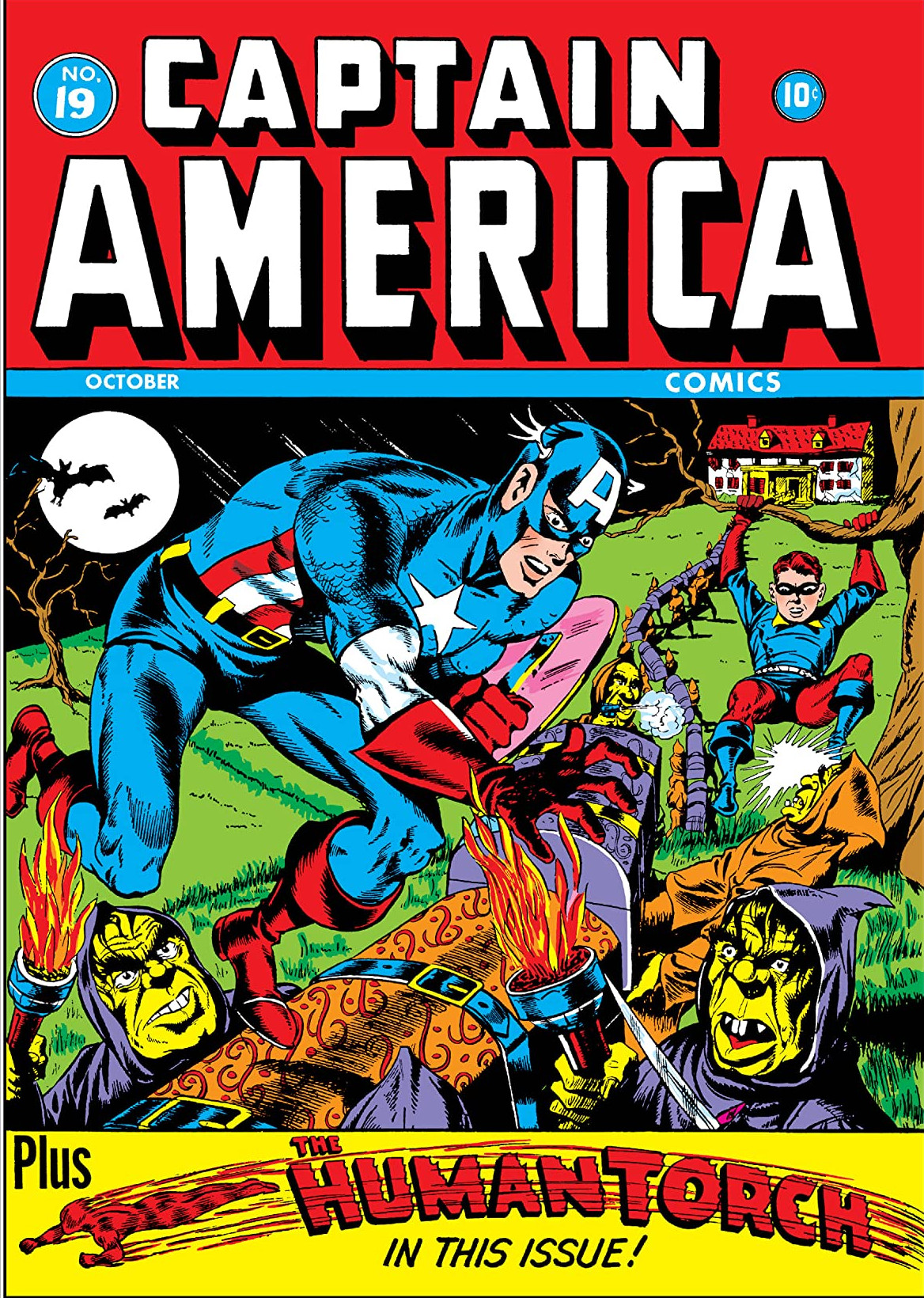 Captain America Comics Vol 1 19