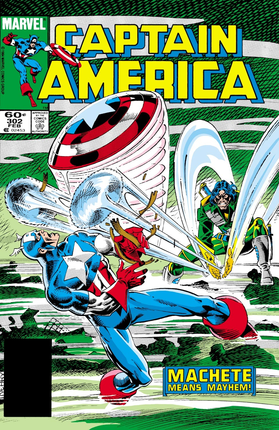Captain America Vol 1 302