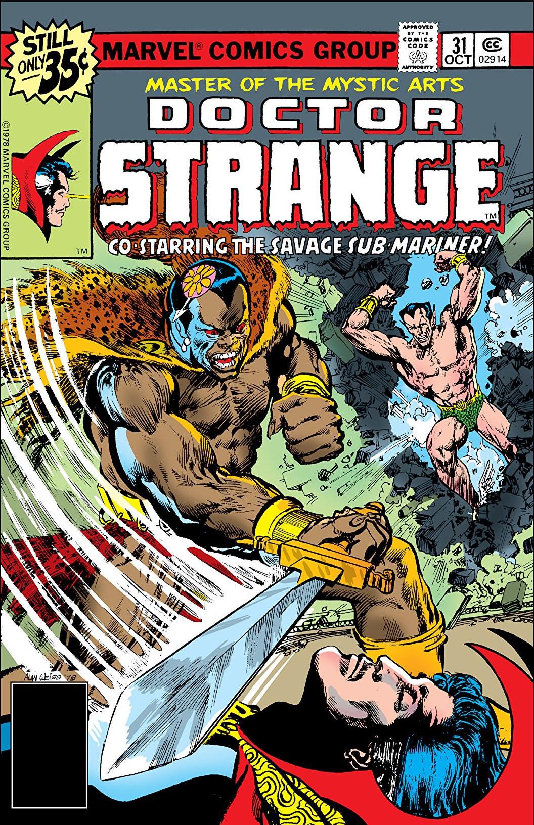 Doctor Strange Vol 2 31