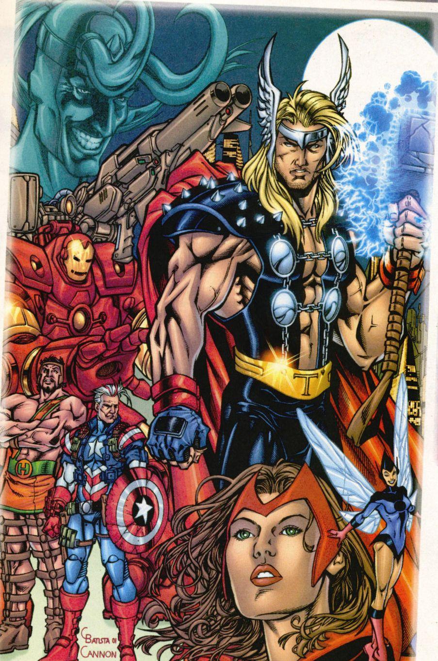 Avengers (Earth-8710)/Gallery