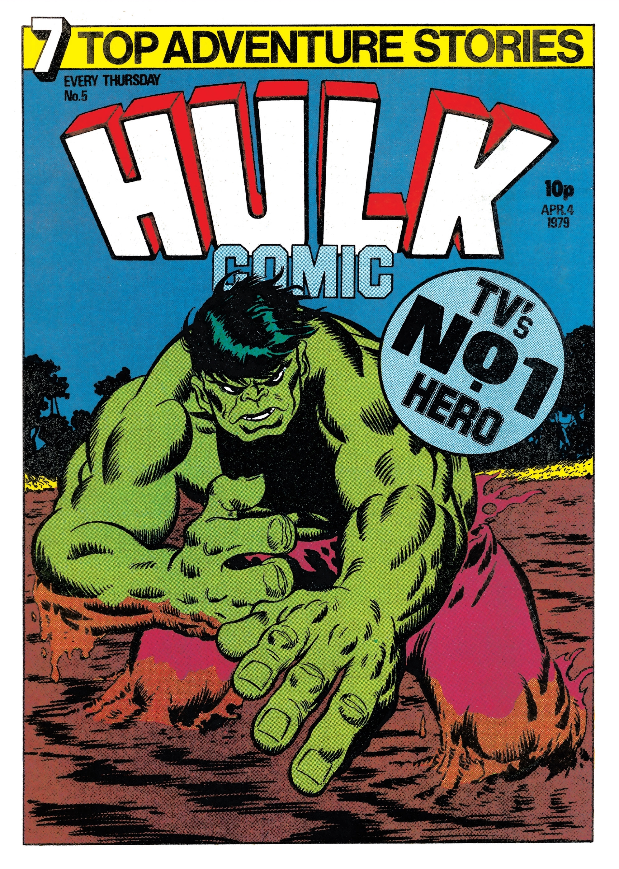 Hulk Comic (UK) Vol 1 5