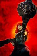 Infinity Countdown Black Widow Vol 1 1 Sienkiewicz Variant Textless