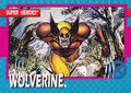 James Howlett (Earth-616) from X-Men (Trading Cards) 1992 Set 0001