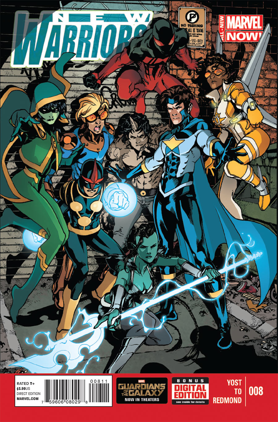 New Warriors Vol 5 8