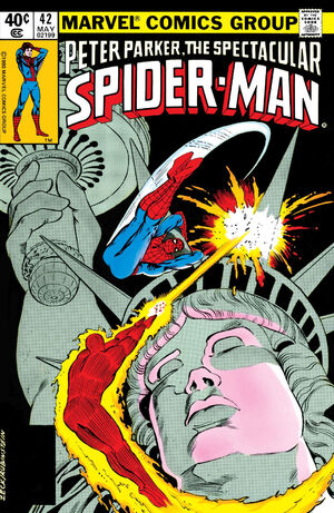 Peter Parker, The Spectacular Spider-Man Vol 1 42.jpg