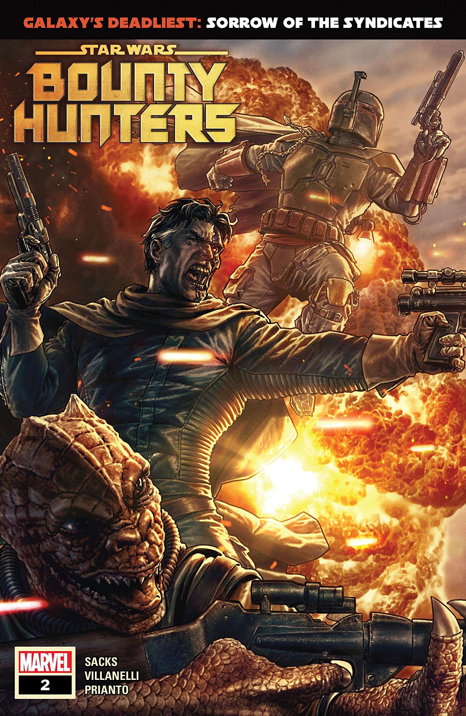Star Wars: Bounty Hunters Vol 1 2