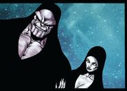 Thanos (Earth-616) and Death (Earth-616) from Annihilation Vol 1 6 001