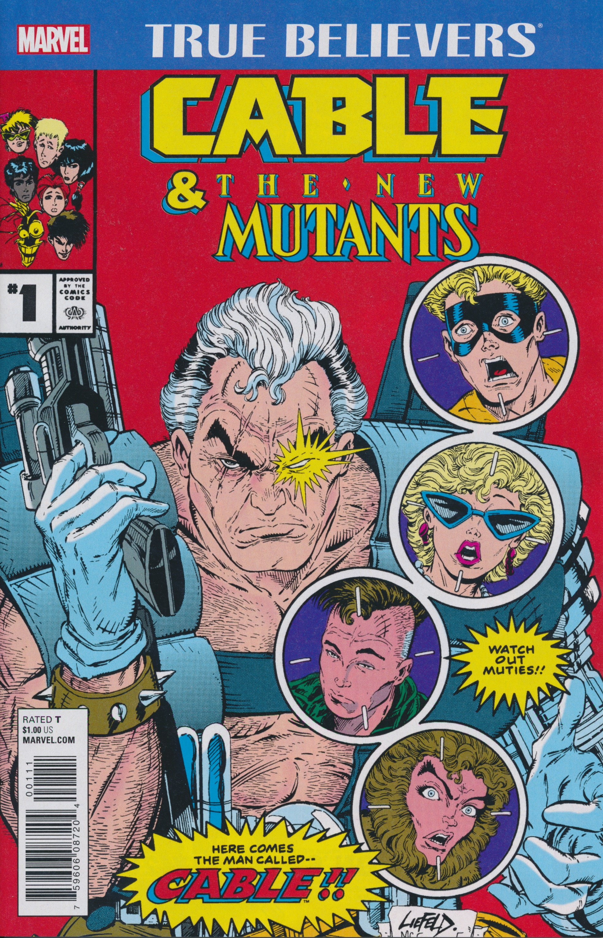 True Believers: Cable & the New Mutants Vol 1
