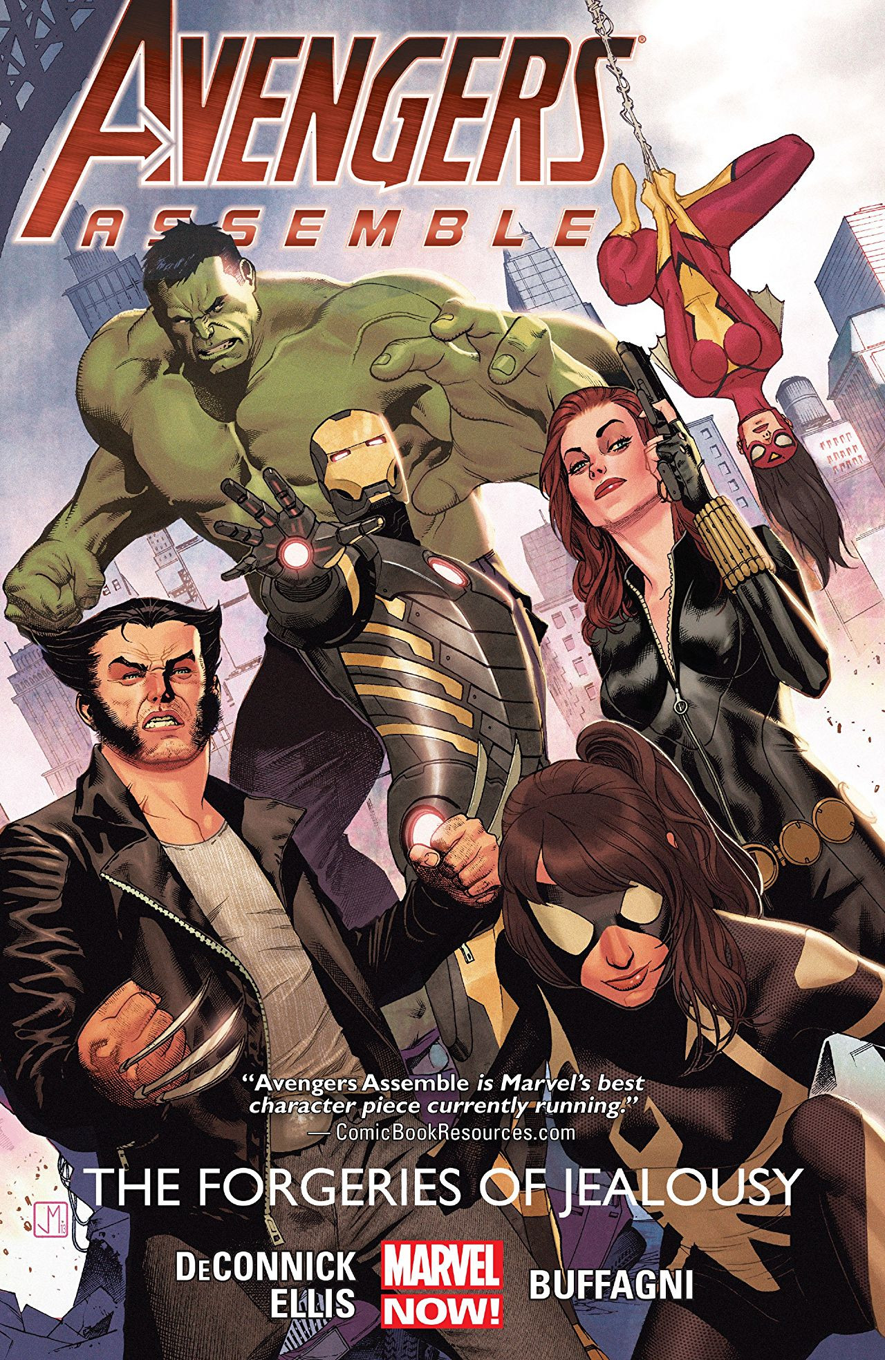 Avengers Assemble: The Forgeries of Jealousy TPB Vol 1 1