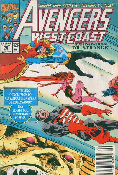 Avengers West Coast Vol 2 79