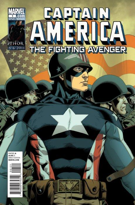 Captain America: The Fighting Avenger Vol 1 1