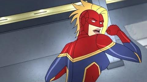 Captain Marvel Marvel's Avengers Secret Wars Disney XD