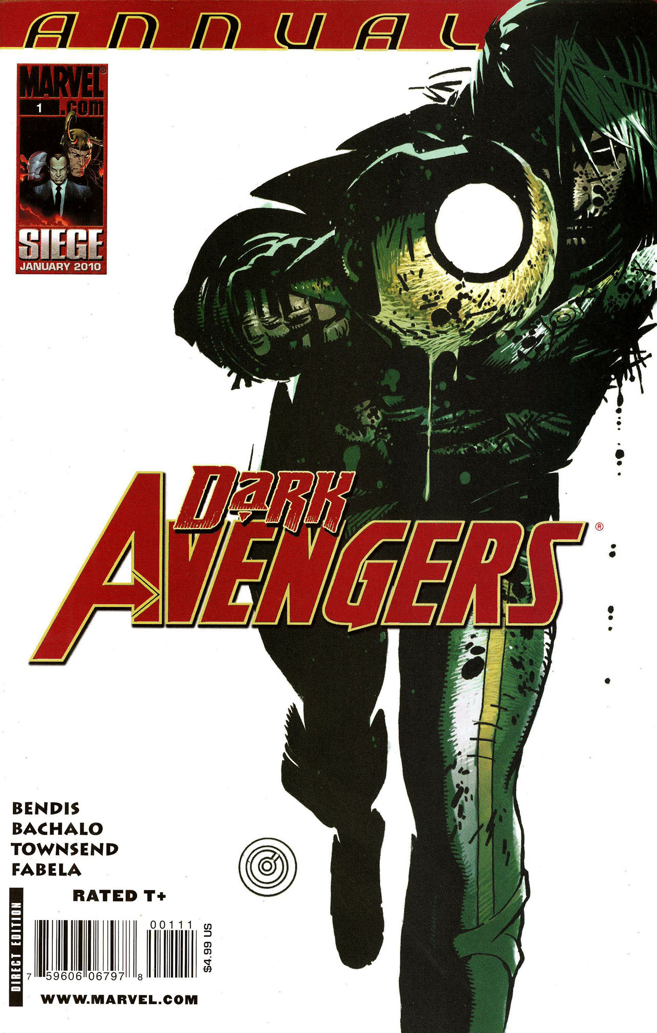 Dark Avengers Annual Vol 1 1