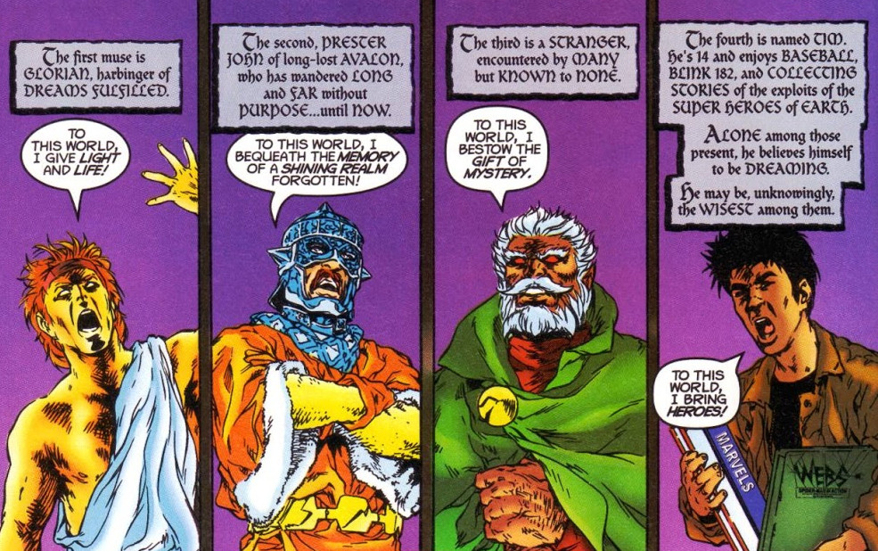 Four Muses (Eurth) (Earth-616)