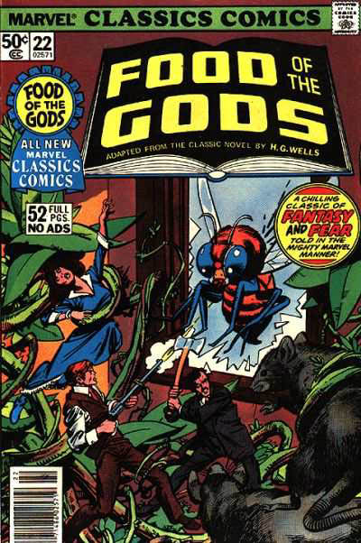 Marvel Classics Comics Series Featuring Food of the Gods Vol 1 1