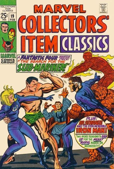 Marvel Collectors' Item Classics Vol 1 19