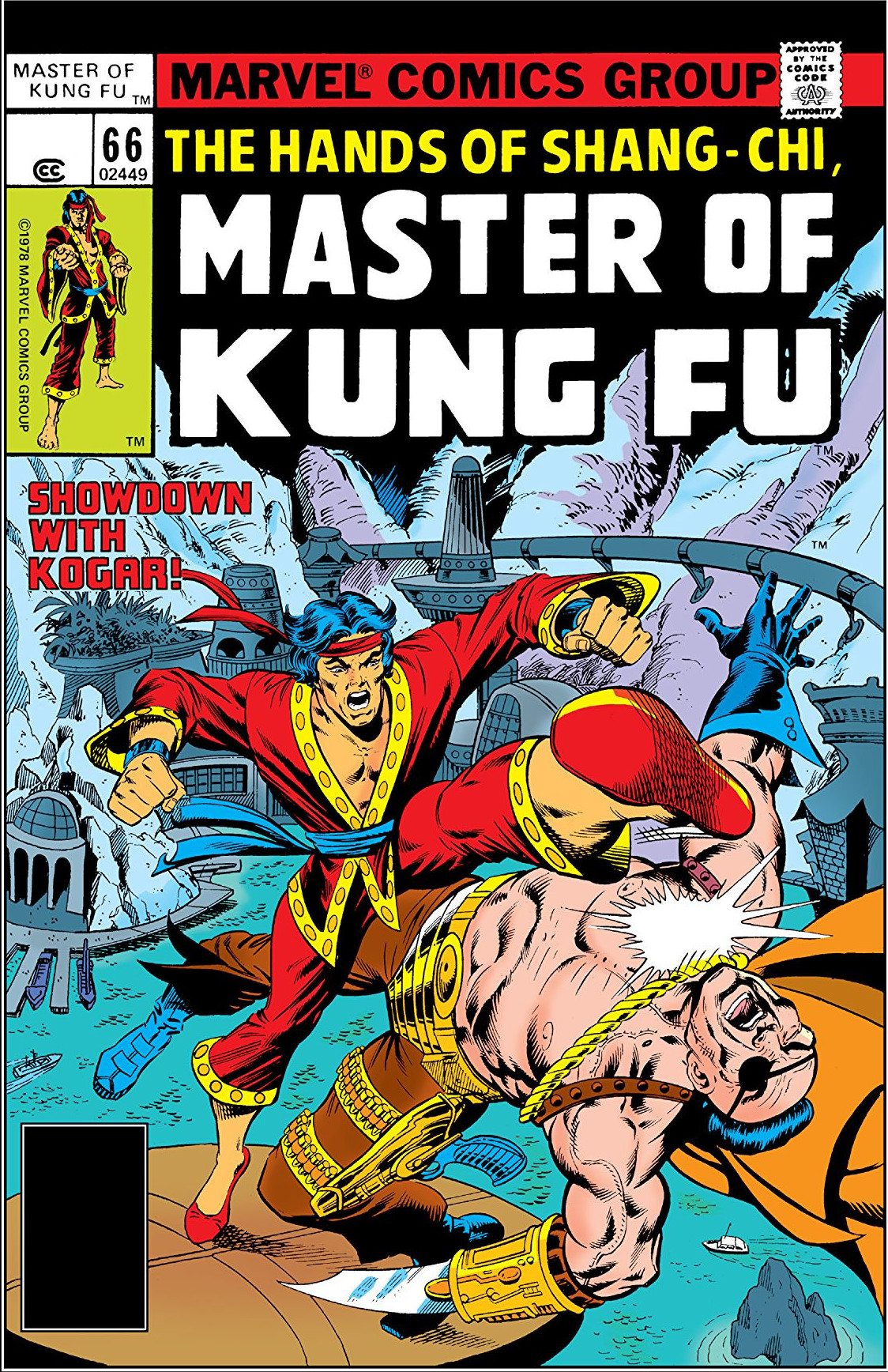 Master of Kung Fu Vol 1 66
